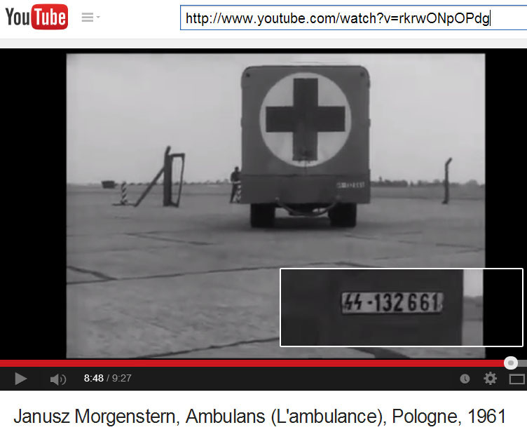Janusz Morgenstern, 'Ambulans', 1961, 8 min 48 seconds