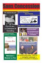 Couverture SC N° 23-24, 2006