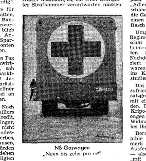 Fake Gas Van, taken from: Der Spiegel, no. 14, 27 March 1967, p. 36