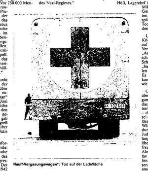 Fake Gas Van, taken from: Der Spiegel, no. 18, 2 May 1988, p. 104