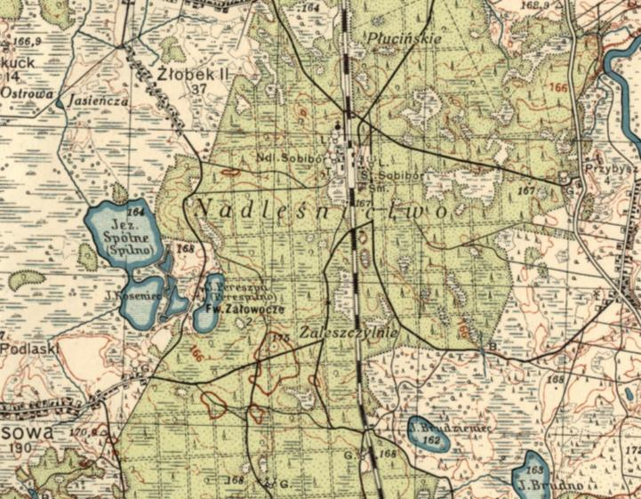 Sobibor Map 1933