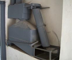 Dachau hot-air fumigation device