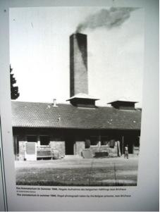 Dachau Crematorium in summer 1944