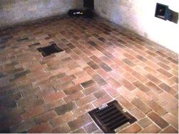 Dachau gas chamber floor