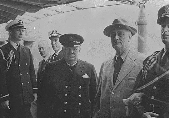 Franklin Roosevelt and Winston Churchill