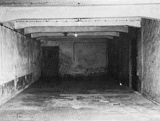 Morgue/alleged homicidal gas chamber in crematory I, Auschwitz main camp