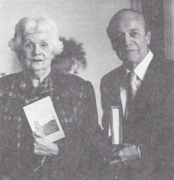 Isabelle Bacon with Dr. Robert John, 1992