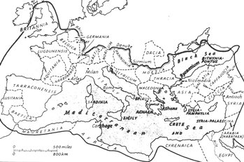 Roman Empire in 2nd century, AD