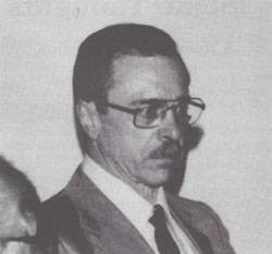 Dr. Athur R. Butz at the 1992 IHR Conference