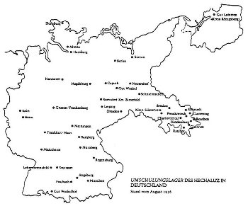 Zionist retraining camps in Germany, August 1936