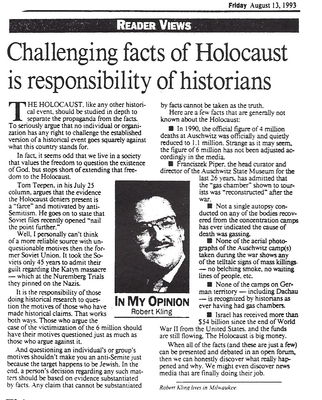 why should we learn about the holocaust
