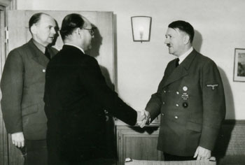Bose meets Hitler, May 1942