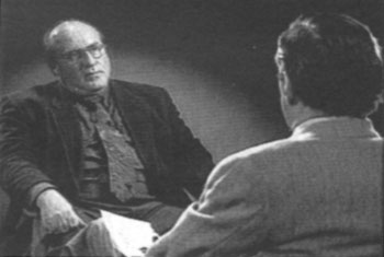 Ernst Zündel with host Mike Wallace, '60 Minutes,' March 20, 1994