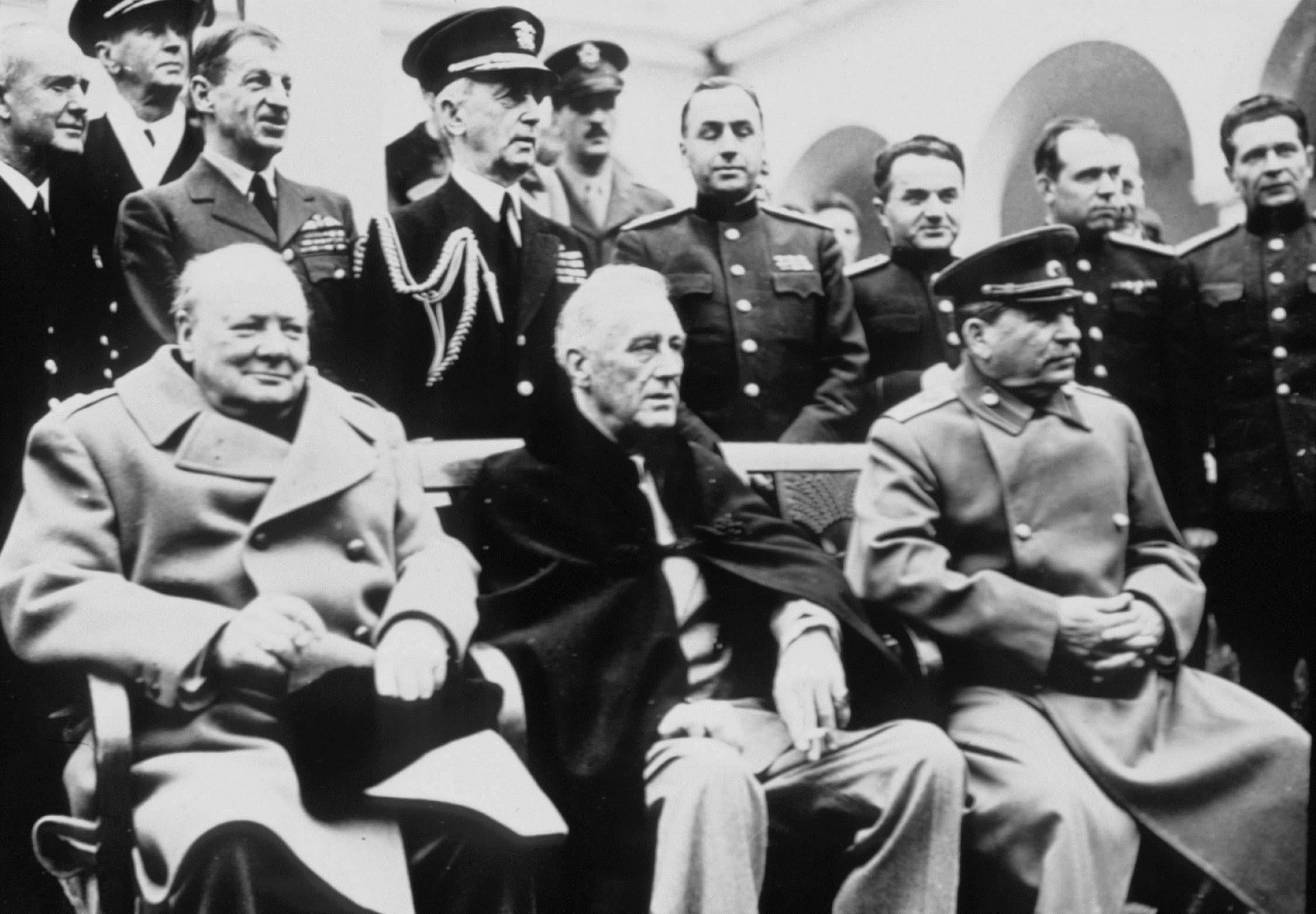 Сталин черчилль рузвельт фото