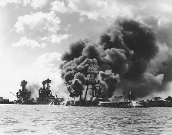Attack on Pearl Harbor, Dec. 7, 1941