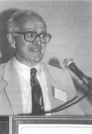 Robert Faurisson addresses the 12th IHR Conference, September 1994.
