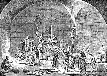 Inquisition torture chamber