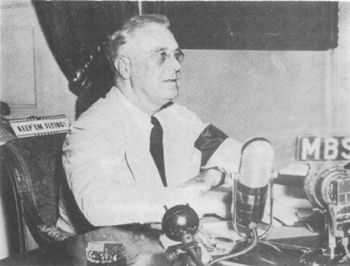 Franklin D. Roosevelt, radio address, September 11, 1941
