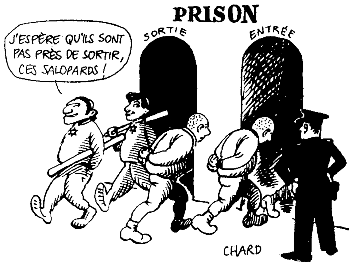 Cartoon: Jewish thugs with impunity