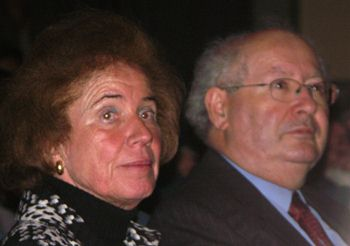 Serge and Beate Klarsfeld, 2010