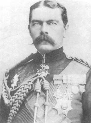 British Commander-in-Chief Herbert Kitchener