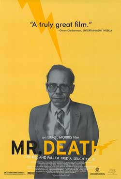 'Mr. Death' ad for the documentary about Fred Leuchter