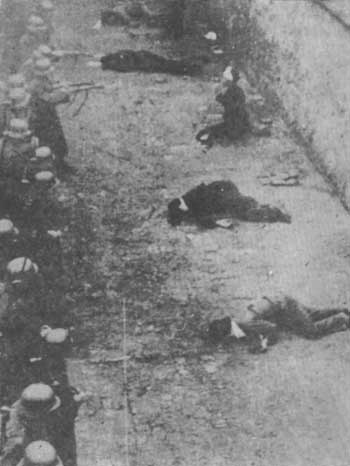 Executed Hungarian traitors and murderers falsely portrayed as Nazi victims