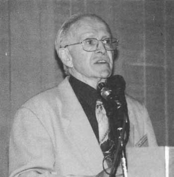 Robert Faurisson addresses the 13th IHR Conference, May 29, 2001