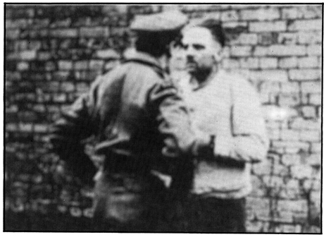 Rudolf Höß in British captivity