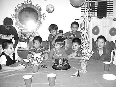 Anthony's 6th birthday party