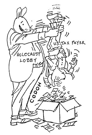 Holocaust Lobby—U.S. Tax Payer