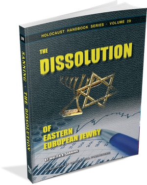 Sanning's classic: The Dissolution of Eastern European Jewry, in it's 2015 edition