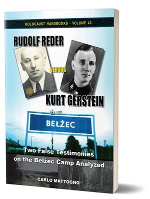 "New Book ""Rudolf Reder versus Kurt Gerstein"" (HH Vol. 43) just released"