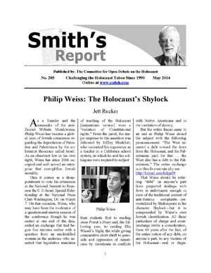 Smith's Report # 205 is now online !