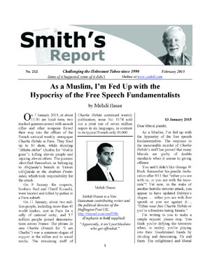 SMITH'S REPORT #212, February 2015, is now online