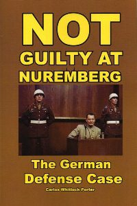 """Not Guilty at Nuremberg"" - new edition"