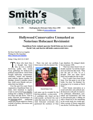 Smith's Report No. 196 (June 2013) online